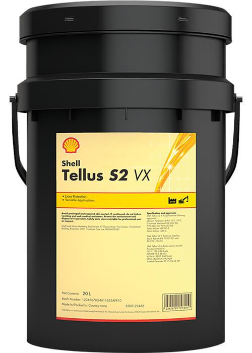 Tellus S2 VX aceite hidráulico